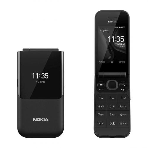 Nokia 2720 Flip Dual-SIM (Fekete) Gyártói Garancia