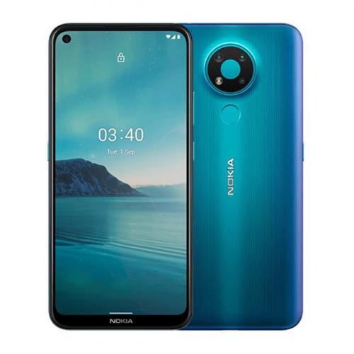Nokia 3.4 Dual-SIM 64GB 3GB RAM (Kék) Gyártói Garancia