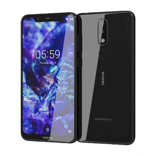 Nokia 5.1 Plus Dual-SIM 32GB 3GB RAM (Fekete)