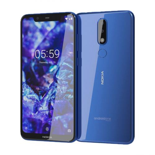 Nokia 5.1 Plus Dual-SIM 32GB 3GB RAM (Kék)