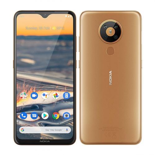 Nokia 5.3 Dual-SIM 64GB 4GB RAM (Homokszín)