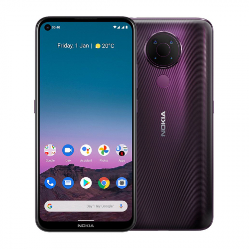 Nokia 5.4 Dual-SIM 128GB 4GB RAM (Lila)