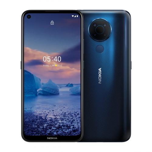 Nokia 5.4 Dual-SIM 64GB 4GB RAM (Kék) Gyártói Garancia
