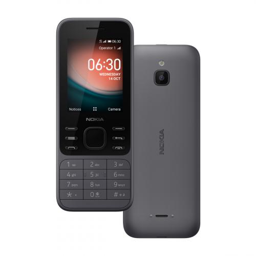 Nokia 6300 Dual-SIM (Szénszürke)