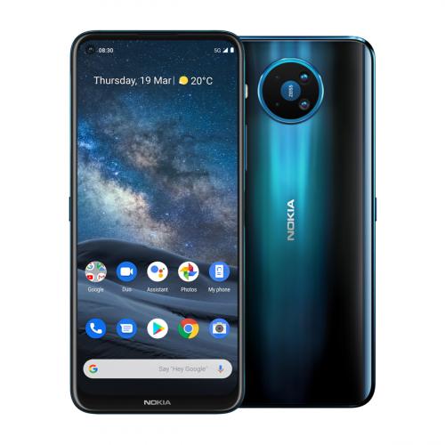 Nokia 8.3 5G Dual-SIM 128GB 8GB RAM (Kék)