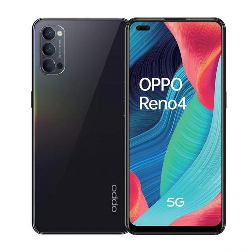 OPPO Reno4 5G Dual-SIM 128GB 8GB RAM (Fekete)