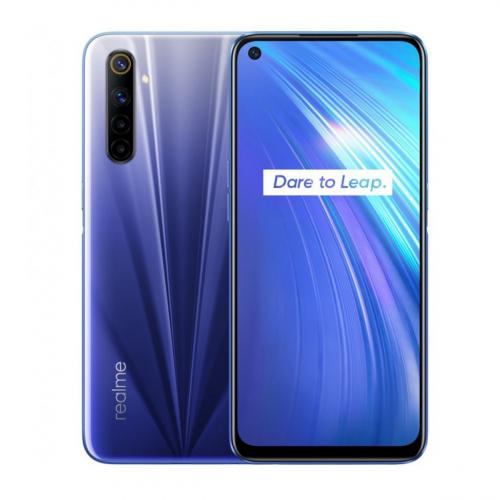 Realme 6 Dual-SIM 64GB 4GB RAM (Kék)