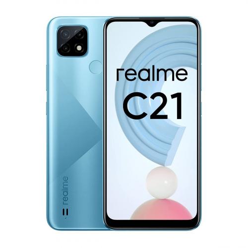 Realme C21 Dual-SIM 32GB 3GB RAM (Kék)
