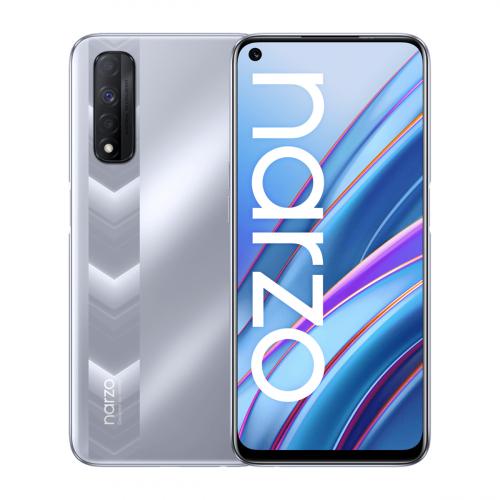 Realme Narzo 30 5G Dual-SIM 128GB 4GB RAM (Ezüst)