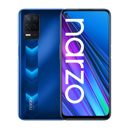 Realme Narzo 30 5G Dual-SIM 128GB 4GB RAM (Kék)