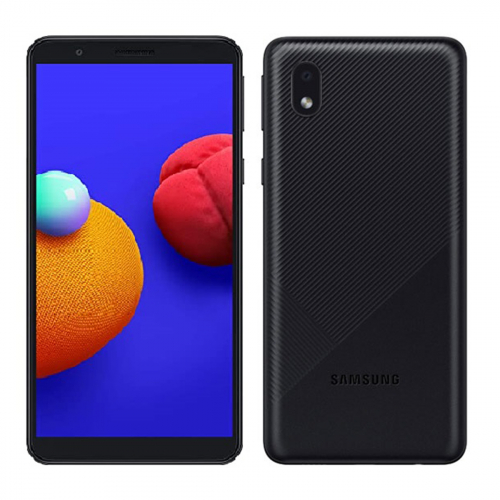 Samsung A013F Galaxy A01 Core Dual-SIM 32GB 2GB RAM (Fekete)