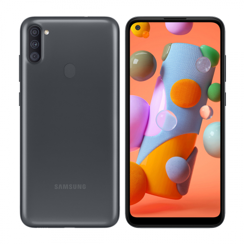 Samsung A115F Galaxy A11 Dual-SIM 32GB 3GB RAM (Fekete)