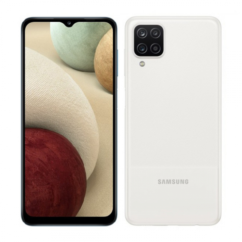 Samsung A125F Galaxy A12 Dual-SIM 64GB 4GB RAM (Fehér) Gyártói Garancia