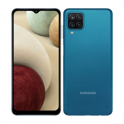 Samsung A125F Galaxy A12 Dual-SIM 64GB 4GB RAM (Kék) Gyártói Garancia