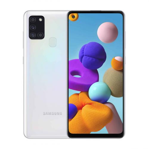 Samsung A217F Galaxy A21s Dual-SIM 32GB 3GB RAM (Fehér)