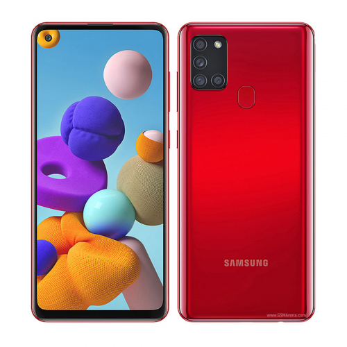 Samsung A217F Galaxy A21s Dual-SIM 32GB 3GB RAM (Piros)