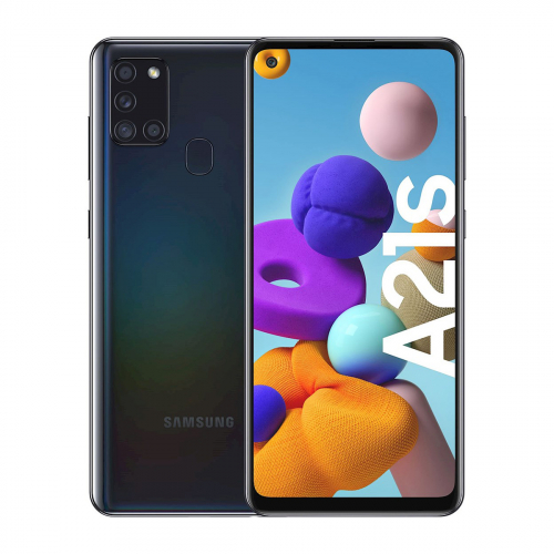 Samsung A217F Galaxy A21s Dual-SIM 64GB 4GB RAM (Fekete)