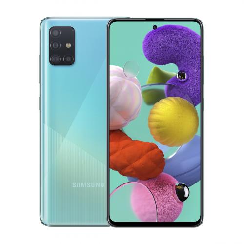 Samsung A515F Galaxy A51 Dual-SIM 128GB 4GB RAM (Kék) Gyártói Garancia