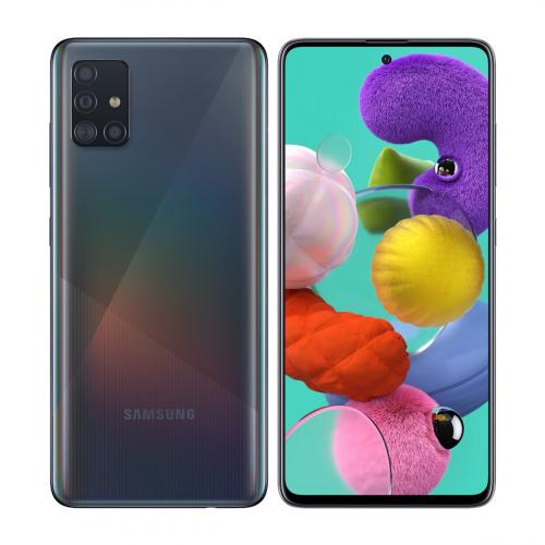Samsung A515F Galaxy A51 Dual-SIM 128GB 6GB RAM (Fekete)
