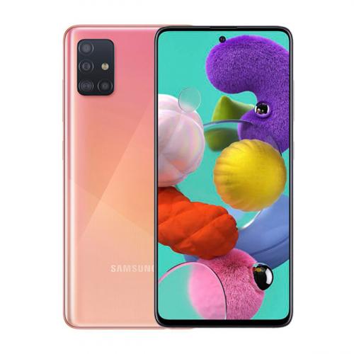 Samsung A515F Galaxy A51 Dual-SIM 128GB 6GB RAM (Rózsaszín)