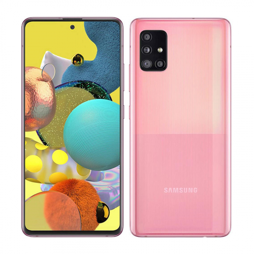 Samsung A516B Galaxy A51 5G Dual-SIM 128GB 6GB RAM (Rózsaszín)