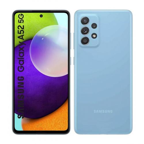 Samsung A526B Galaxy A52 5G Dual-SIM 128GB 6GB RAM (Kék) Gyártói Garancia