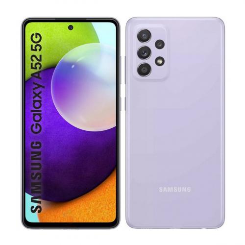 Samsung A526B Galaxy A52 5G Dual-SIM 128GB 6GB RAM (Lila) Gyártói Garancia