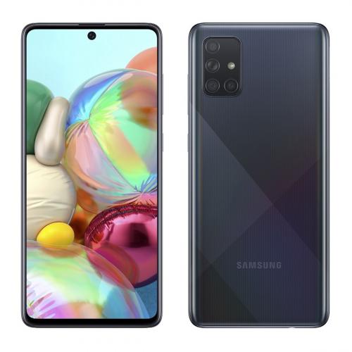 Samsung A715F Galaxy A71 Dual-SIM 128GB 6GB RAM (Fekete)