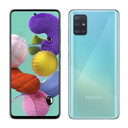 Samsung A715F Galaxy A71 Dual-SIM 128GB 8GB RAM (Kék)