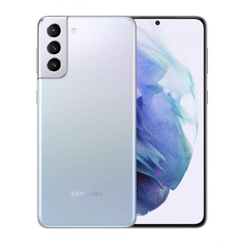 Samsung G996B Galaxy S21+ 5G Dual-SIM 128GB 8GB RAM (Ezüst) Gyártói Garancia