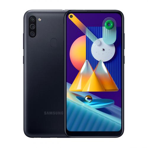 Samsung M115F Galaxy M11 Dual-SIM 32GB 3GB RAM (Fekete)