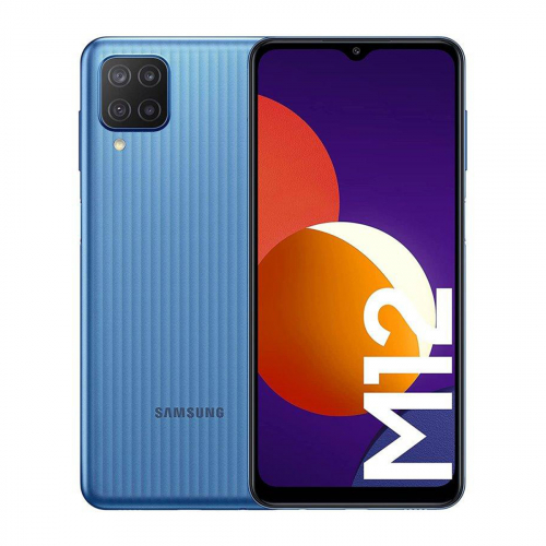 Samsung M127F Galaxy M12 Dual-SIM 128GB 4GB RAM (Kék)
