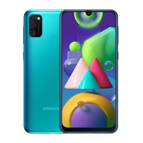 Samsung M215F Galaxy M21 Dual-SIM 64GB 4GB RAM (Zöld)