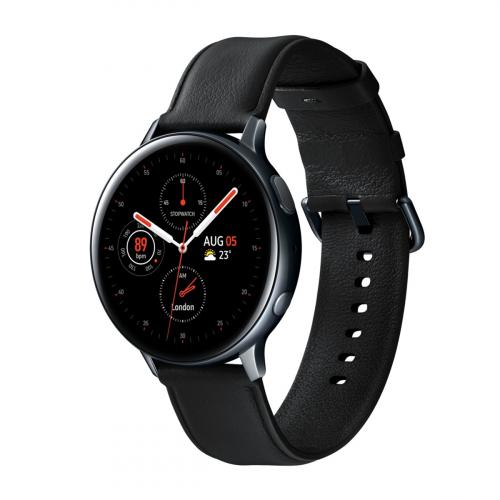 Samsung SM-R825 Galaxy Watch Active 2 44mm LTE Rozsdamentes Acél (Fekete)