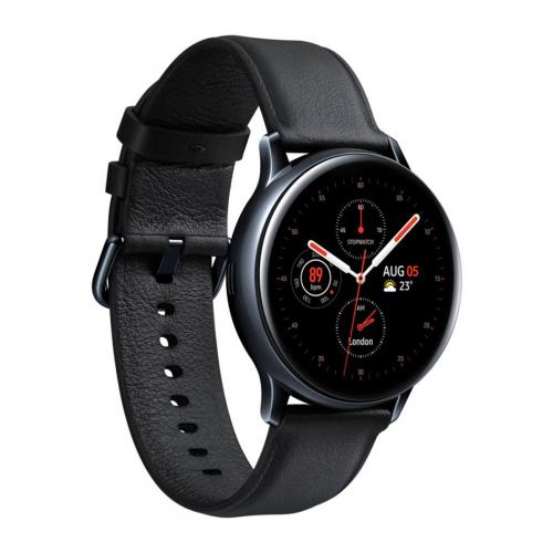 Samsung SM-R835 Galaxy Watch Active 2 LTE 40mm Rozsdamentes Acél (Fekete)