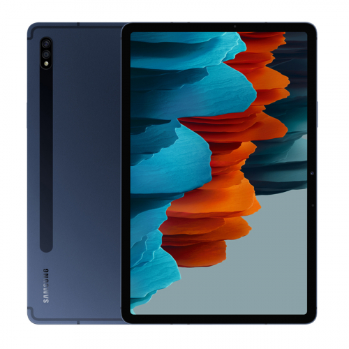 Samsung SM-T970N Galaxy Tab S7+ 12.4'' Wi-Fi 128GB 6GB RAM (Kék) Gyártói Garancia