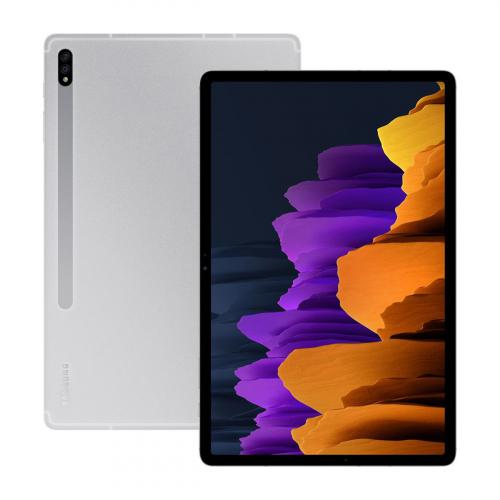 Samsung SM-T976B Galaxy Tab S7+ 12.4'' Wi-Fi + 5G 128GB 6GB RAM (Ezüst)