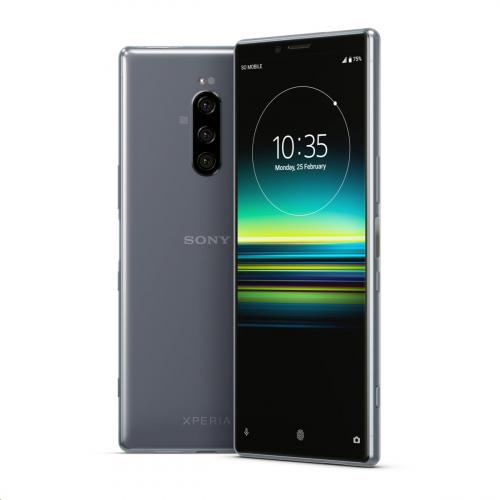 Sony J9110 Xperia 1 Dual-SIM 128GB 6GB RAM (Szürke)