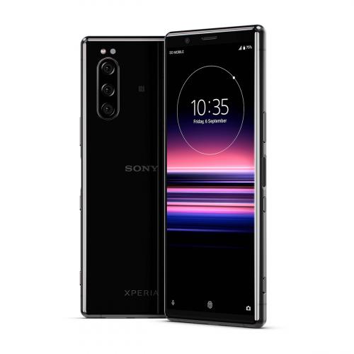 Sony J9210 Xperia 5 Dual-SIM 128GB 6GB RAM (Fekete)