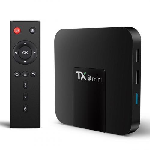Tanix TX3 TV Box 32GB 4GB RAM (Fekete)