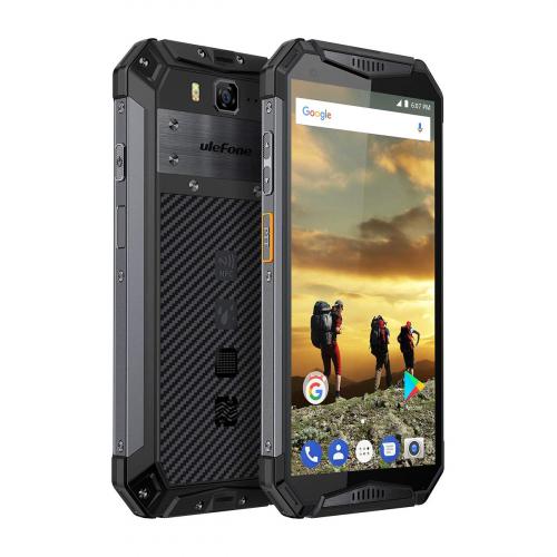 Ulefone Armor 3W Dual-SIM 64GB 6GB RAM (Fekete)