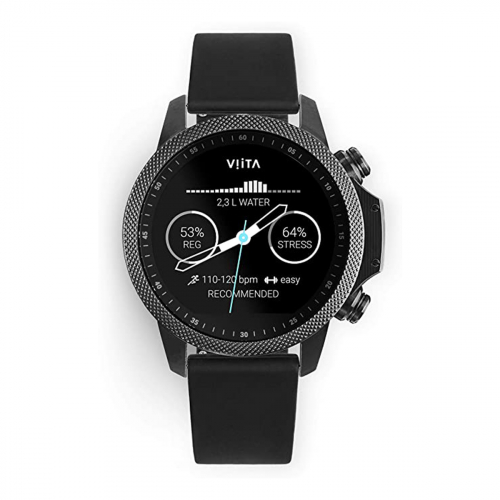 Viita Active HRV Adventure Silicon 47mm (Fekete-Fekete)