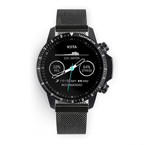 Viita Active HRV Tachymeter 47mm (Fekete-Fekete)