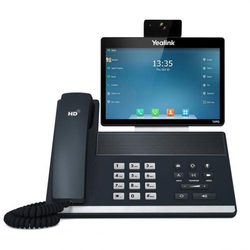 Yealink VP-T49G Videótelefon (Fekete)