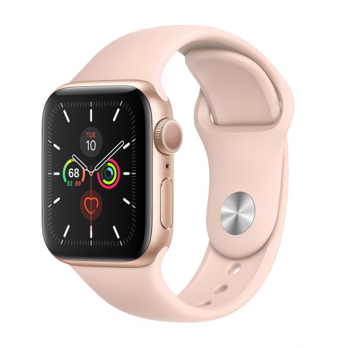 Apple Watch Series 5 40mm Sport (Arany-Rózsakvarc) Apple Garancia