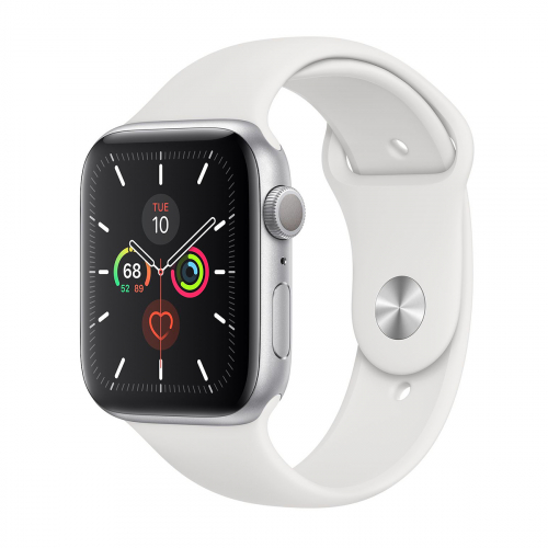 Apple Watch Series 5 44mm Sport (Ezüst-Fehér)