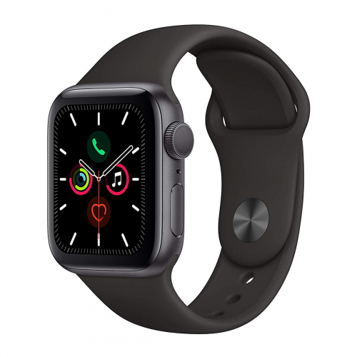 Apple Watch Series 5 44mm Sport (Szürke-Fekete) Apple Garancia